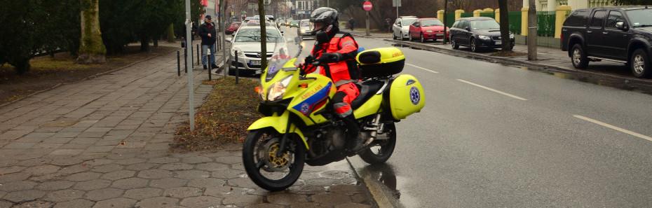 Motocykl Ratunkowy